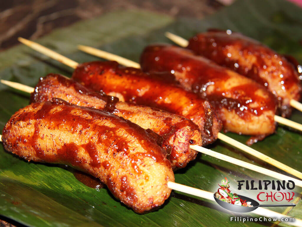 Street food recipes filipino chows philippine food and recipes picture of banana que forumfinder Choice Image