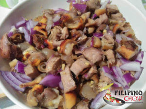 Picture of Kilawing Kambing (Roasted Goat in Vinegar)