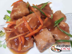 Picture of Sweet and Sour Tuna (Escabecheng Isda)