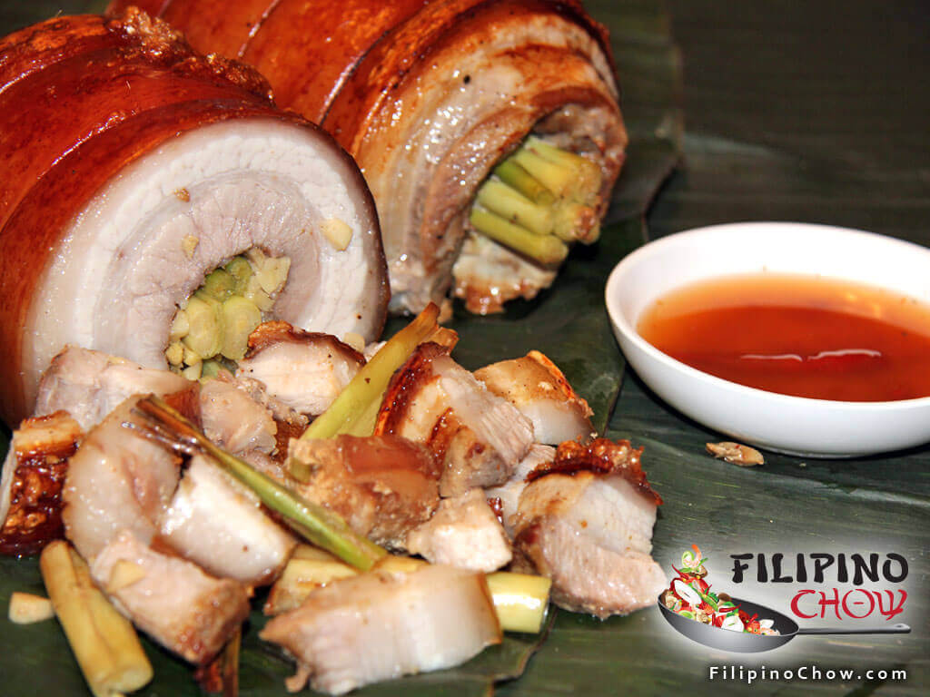 Picture of Roasted Pork Belly (Lechon Liempo) Image