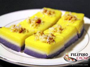 Picture of Sapin Sapin (Steamed Coconut Layer Pudding)