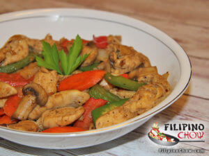 Picture of Chicken and Vegetable Stir Fry