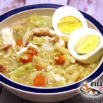 Picture of Chicken Sopas (Chicken Macaroni Soup)