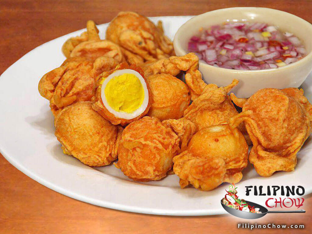 Picture Of Kwek Kwek Filipino Chow S Philippine Food And