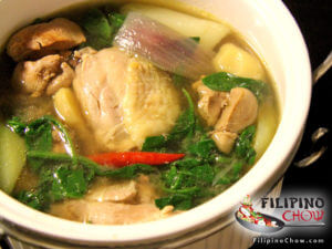 Picture of Tinolang Manok (Ginger Chicken Soup)