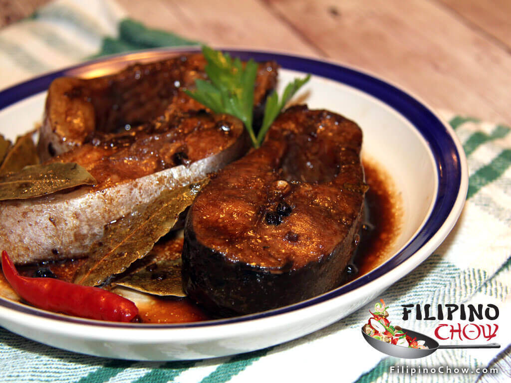 Image of Picture of Adobong Isda (Fish Adobo)