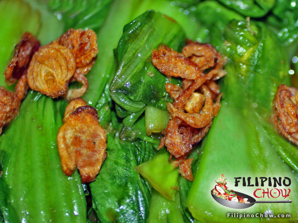 Picture of Bok Choy in Oyster Sauce