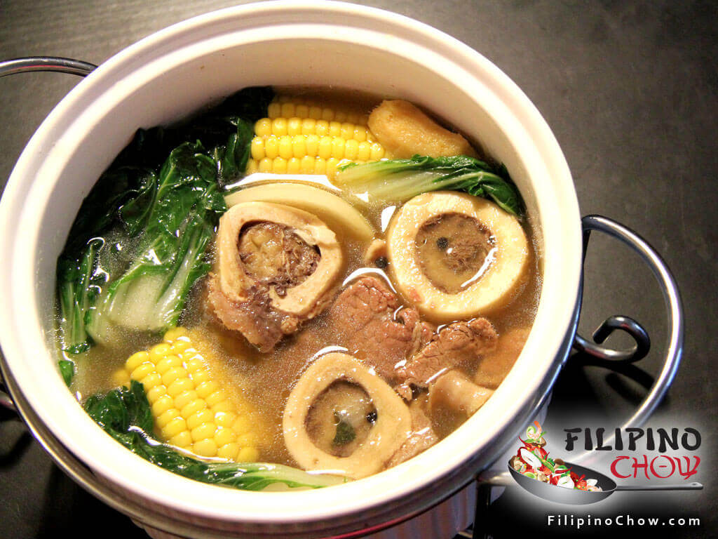 Image of Picture of Bulalo (Beef Bone Marrow Soup)