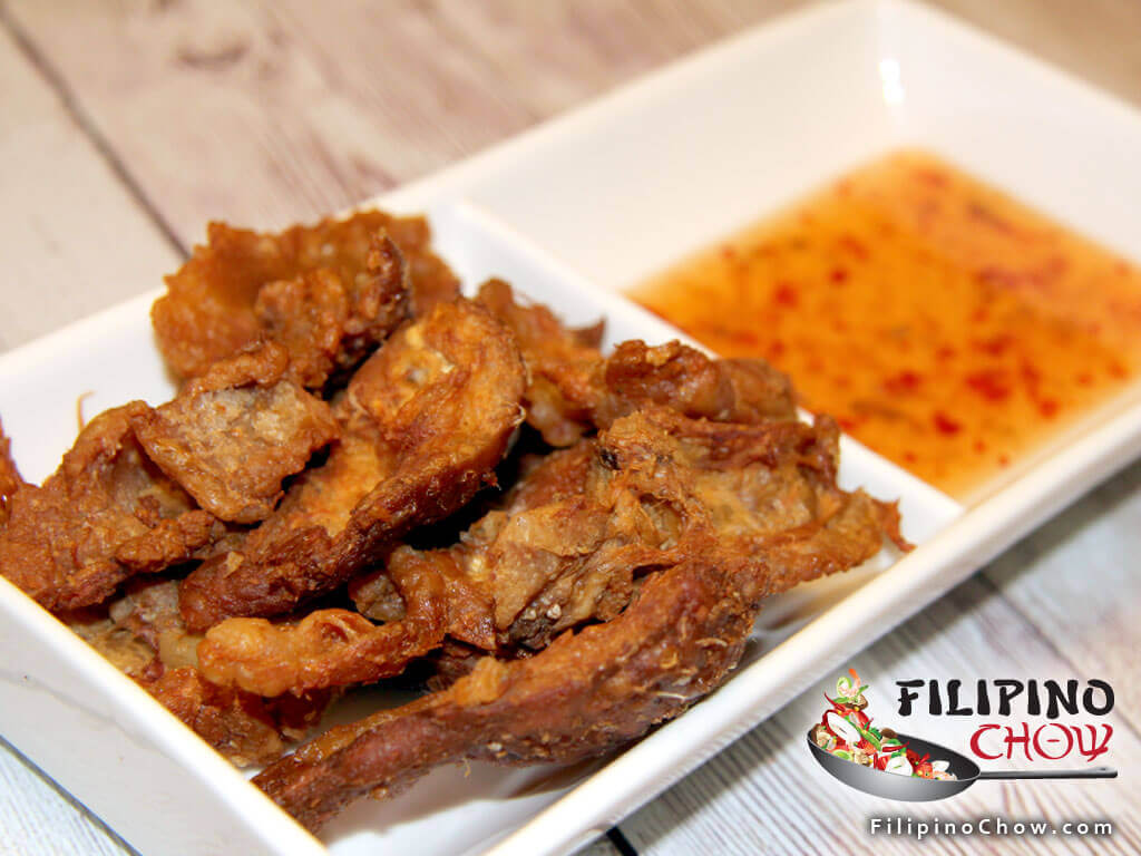 Image of Picture of Chicken Cracklings