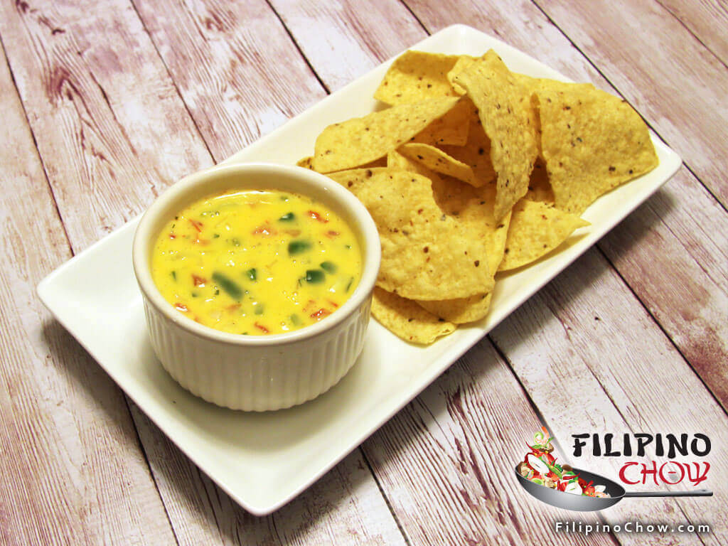 Image of Picture of Chili Con Queso (Spicy Cheese Dip)