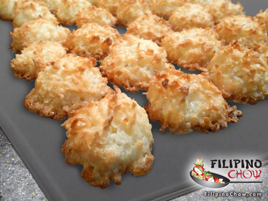 Coconut Macaroons Filipino Chow S Philippine Food And Asian Recipes To Learn How