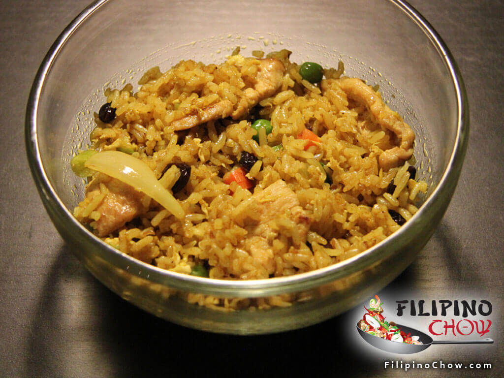 Image of Picture of Curry Fried Rice