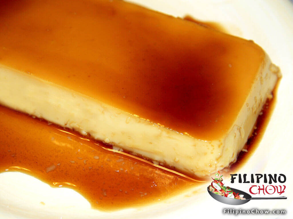 Image of Picture of Eggless Leche Flan