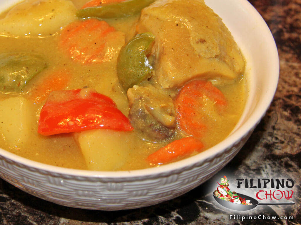 Image of Picture of Filipino Chicken Curry