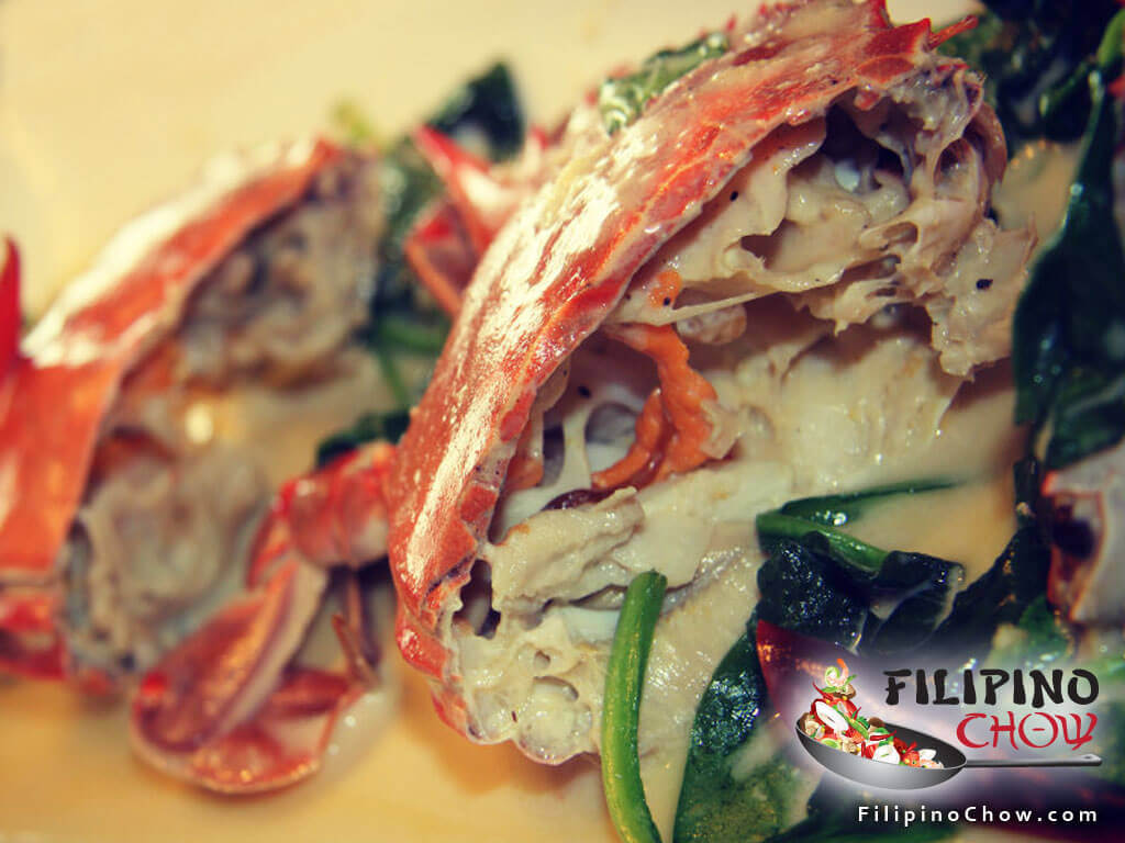Image of Picture of Ginataang Alimasag (Crabs in Coconut Milk)