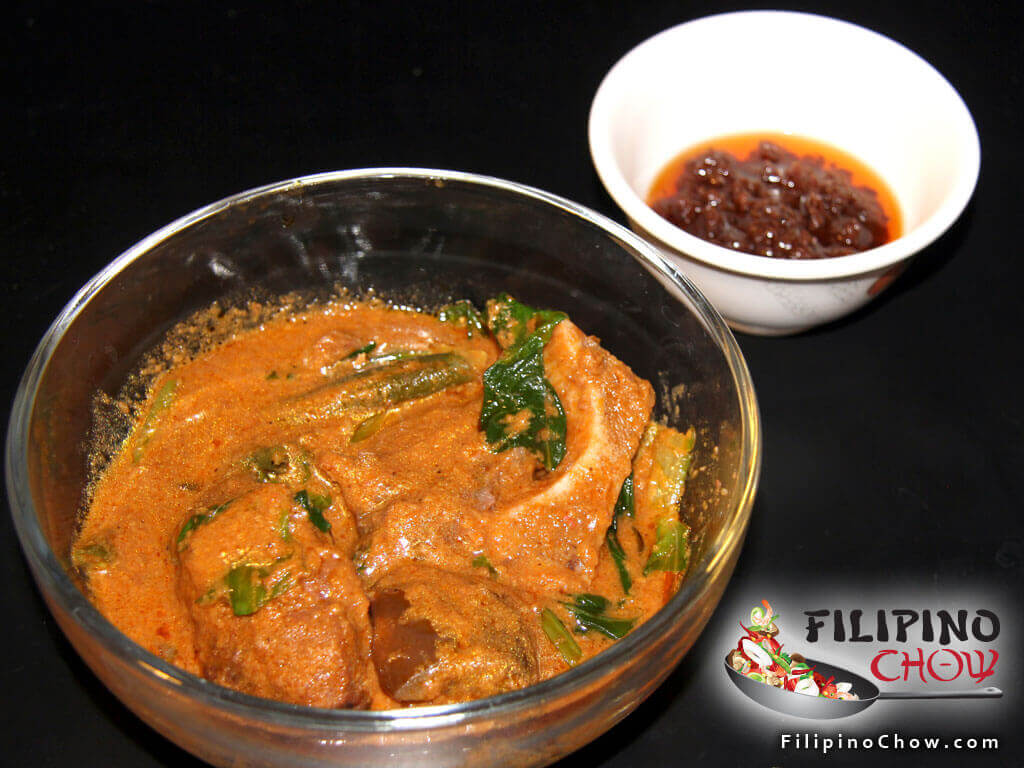 Image of Picture of Kare Kare (Beef Stew in Peanut Sauce)
