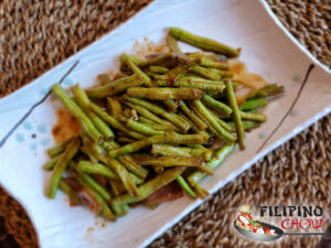 Picture of Ginisang Batong (Sauteed Long Green Beans)