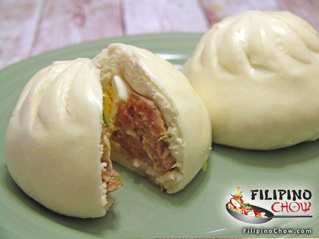 Image of Picture of Pork Siopao Steamed Buns