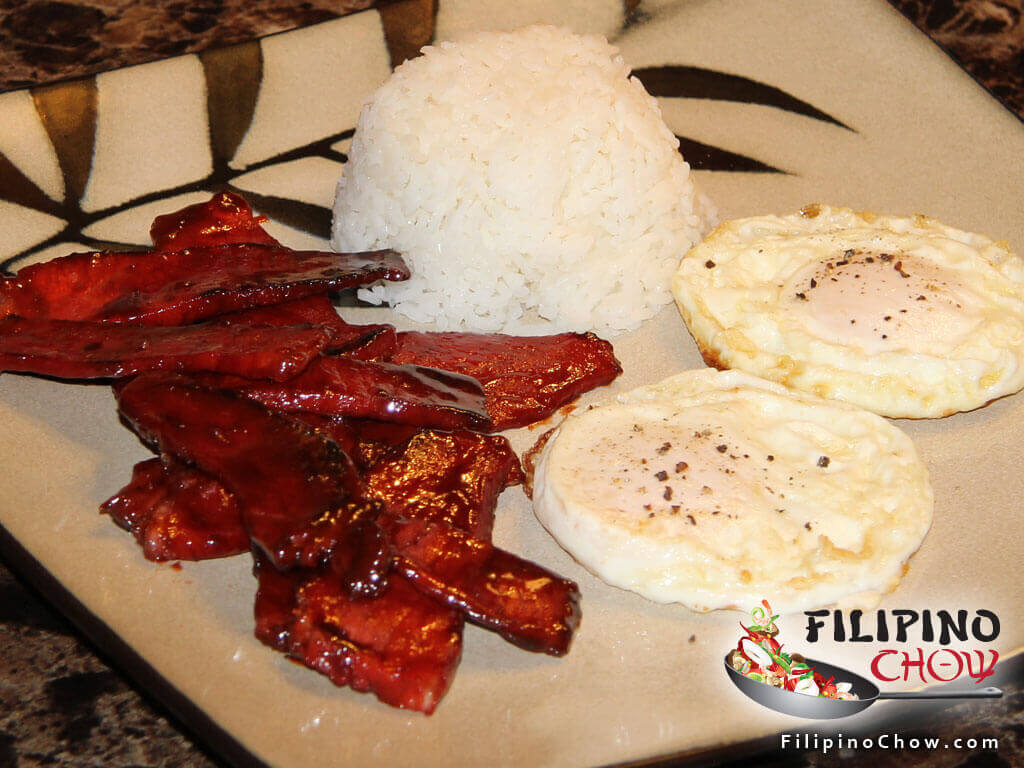 Image of Picture of Pork Tocino (Sweet Cured Pork)