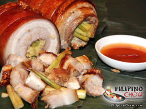 Picture of Roasted Pork Belly Lechon Liempo