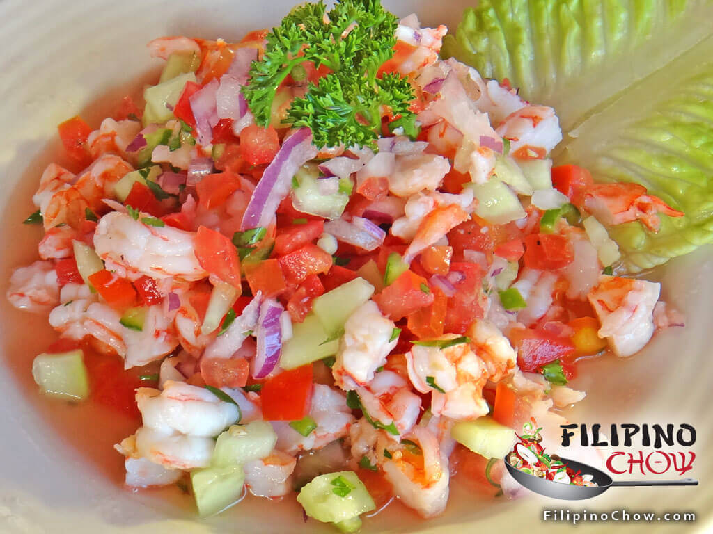 Image of Picture of Shrimp Ceviche