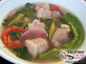 Picture of Sinigang Na Baboy (Pork in Sour Soup)