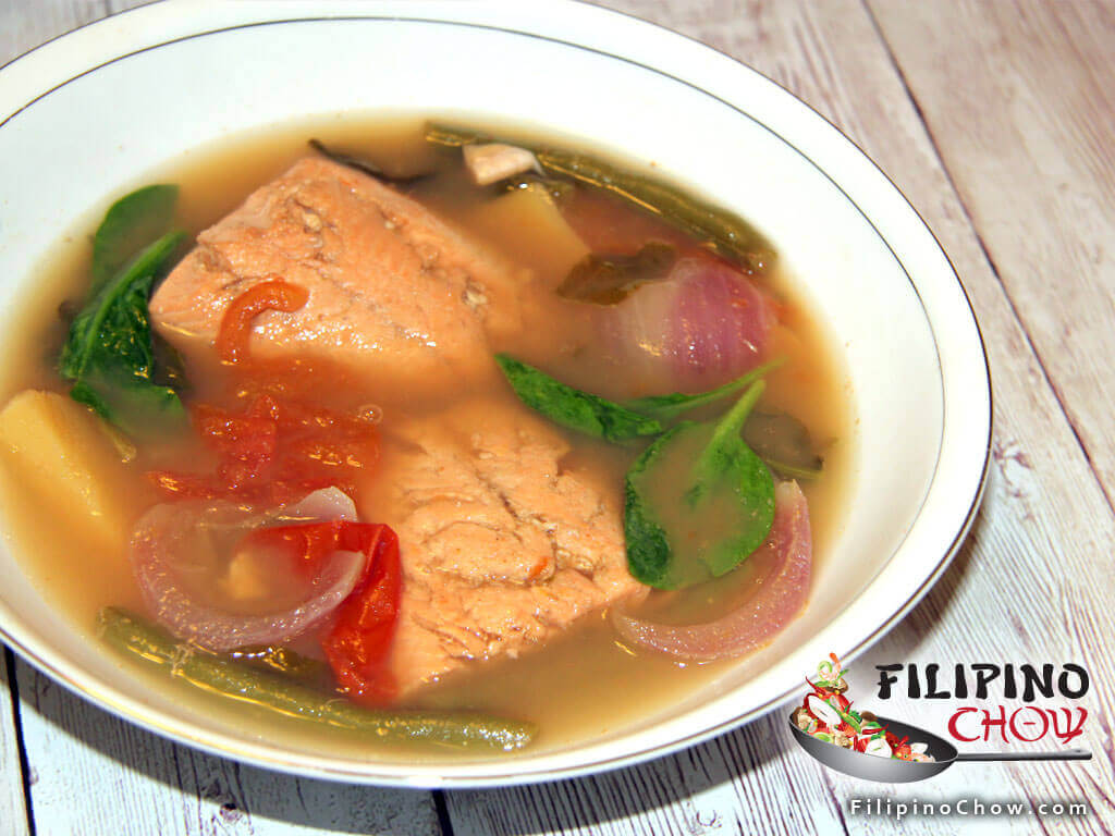 Sinigang Na Salmon Filipino Chow S Philippine Food And Asian Recipes To Learn How