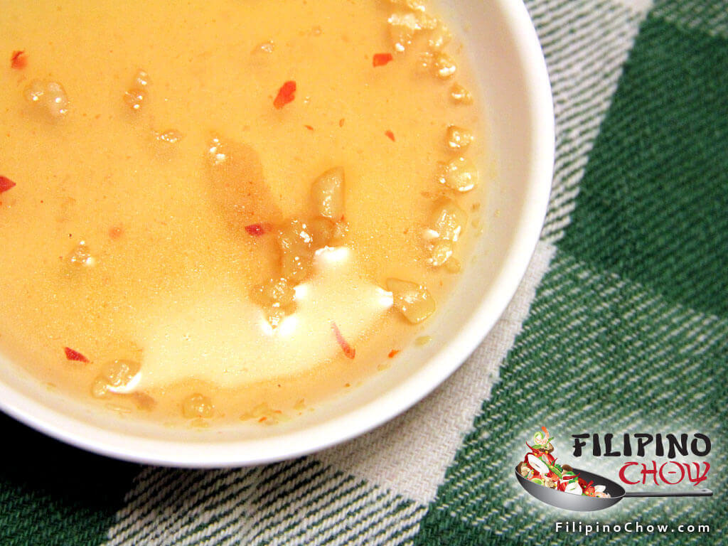 Image of Picture of Thai Peanut Dipping Sauce (Nam Jim Tou Hu Tod)