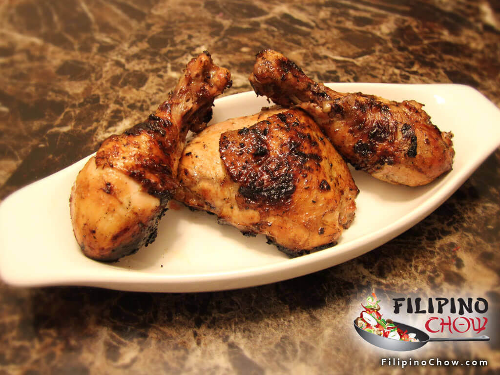 Image of Picture of Filipino Grilled Chicken