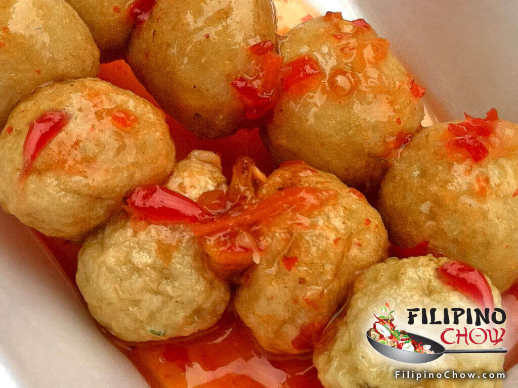 Image of Picture of Fish Balls