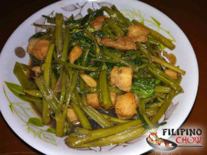 Picture of Adobong Kangkong (Water Spinach Adobo)